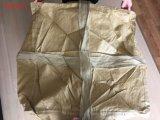 Sacchetti materiali riciclati gialli di tonnellata della Corea 86*86*100cm pp