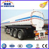 3 as 50000 Van het Koolstofstaal van de Brandstof van de Tanker Liter Aanhangwagen van de Vrachtwagen van de Semi met 4 Compartimenten