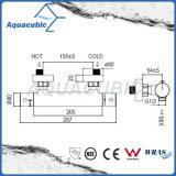 El latón del cuarto de baño cromado Anti-Escalda el grifo termostático de la ducha (AF4223-7)