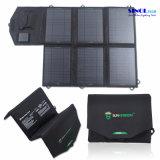 carregador solar do USB da C.C. de 40W 2-Port com dobramento do painel solar 40 watts para cobrar ao ar livre do portátil (FSC-40B)