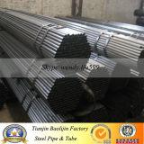 Tubo de acero del círculo del negro del ms carbón de Ss400 Q235/tubo