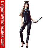 """Da deusa preta do gato egípcio das mulheres """"sexy"""" traje adulto do Jumpsuit para mulheres"""