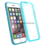 iPhone 6 Caseのための新しいCandy Color Clear Soft TPU Mobile Phone Case