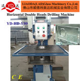 Le double de fabrication de verre de machine de trou dirige la foreuse