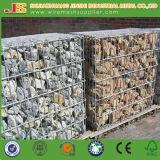 Casella saldata dello zinco o galvanizzata di alluminio della lega di Gabion