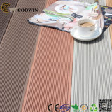 Напольная водоустойчивая пластичная древесина текстуры планок