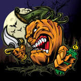 カスタマイズされるHalloweenの装飾の絵画Halloween.のキャンバスの絵画