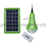 Mini kit de la luz solar con el sistema de paneles solares de luz LED 3W