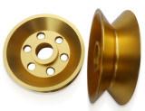 Usinage en laiton en aluminium usiné par commande numérique par ordinateur tourné de rotation automatique d'acier inoxydable de pièces de précision d'OEM