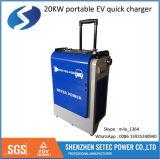 Stazione di carico veloce portatile di CC di EV