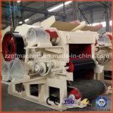 Máquina de esmagamento de madeira do cilindro de bambu