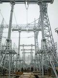 Torre del acero del transformador de la estructura de la subestación