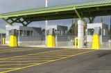 Parking, construction de structure métallique pour le parking (SSW-446)