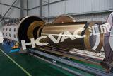 Máquina de pintar Titanium del vacío horizontal del acero inoxidable PVD, máquina de capa del oro del vacío
