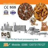 Linha de processamento automática contínua da máquina de Extrudering do alimento de cão