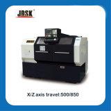 Máquina resistente horizontal do torno da base da abertura do CNC da série de Ck6140 Jdsk