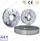 CNCはステンレス鋼または黄銅またはアルミニウム中央機械装置の木製の旋盤の部品をカスタマイズする