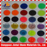 Recouvrement r3fléchissant coloré de PVC pour des vêtements