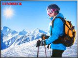 Rivestimento di scalata di montagna con impermeabile ed antivento