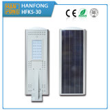 Lampe solaire à LED 30W avec induction infrarouge