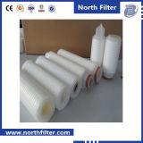 Hohe Präzision Liqiud und Gas-gefalteter/faltender Mikron-Filtereinsatz