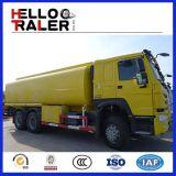 De Vrachtwagen van de Olietanker van Delen 25000L van de Vrachtwagen van de Tanker van de Brandstof van Sinotruk 6X4
