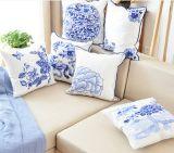 Тип конструкции цветка случая подушки крышки валика вышивки шерстей холстины подушки китайский национальный