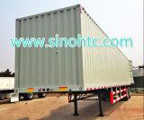 4つの車軸バルク貨物及び半容器のトラックのトレーラー