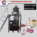 Macchina imballatrice del tè dell'a fogli staccabili con il pesatore elettrico (DXDK-10D)