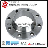 Bride de pièce forgéee de grand diamètre d'approvisionnement de fabrication (300-6500mm)