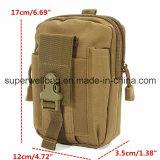 キャンプする軍のツールのウエスト袋のパック袋袋をハイキングする