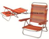Silla de plegamiento de aluminio al aire libre de la silla que acampa con la tela de Texeline