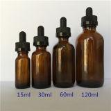 . Lle bottiglie di vetro liquide dalle 5 once 1 oncia 2oz 4oz E con i contagocce di vetro innocui per i bambini da vendere