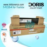 Cartucho de tóner compatible Japón Copiadora de color Tfc35 T-FC35 Amarillo para Toshiba E Studio 2500c 3500c 3510c