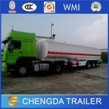 De nieuwe Semi Aanhangwagen van de Tank van de Brandstof 50000L voor Diesel Vervoer