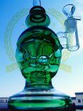 マトリックスのシャワー・ヘッドのHoeycomb Kleinfabの卵の頭骨の再資源業者のピンクガラスの煙る配水管