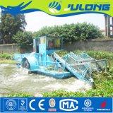 Het Schip van de Maaimachine van het Onkruid van het meer en de Hyacint die van het Water van de Rivier Schip voor Verkoop verzamelen