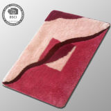 Coperta di zona Shaggy di Microfiber del salone su ordinazione domestico antisdrucciolevole della tessile del progettista