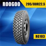 Neumático Neumaticos PARA Camiones, camión de Llantas (295/80R22.5) del carro de Roogoo