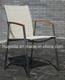 De 2-zetels van het roestvrij staal de OpenluchtKoffietafel van de Vrije tijd met 2 Stoelen