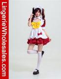 Costume причудливый платья горничной рисбермы Cosplay сексуального Anime женщин французский