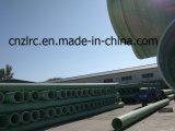 Tubería FRP / GRP / Fibra de vidrio / poliéster Proceso / compuesto para Oilfield Zlrc