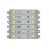 módulo do diodo emissor de luz do branco 2PCS 3528 de 39*12mm