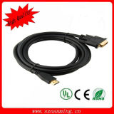 HDMI à grande vitesse au câble dvi pour HDTV/DVD