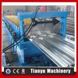 Rolo de aço customizável do Decking do assoalho do metal que dá forma fazendo a máquina