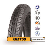 Talla sin tubo 2.75-18 del neumático de la motocicleta