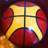 Baloncesto barato de Desgastar-Resistencia modificado para requisitos particulares baloncesto de la PU de la calidad 12pieces 4#5#6#7# Sg0027