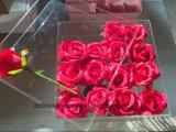Erstklassiger Acrylblumen-Kasten mit Kappe