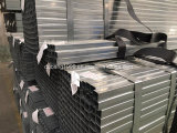 Pipe en acier/tubes carrés/grand dos en acier Tube-10 recuit galvanisé/noir section creuse