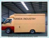 Caravan personalizzato della cucina con la grande rotella Screpe che fa carrello